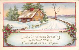 xms005207 - Christmas Postcard