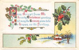 xms005281 - Christmas Postcard