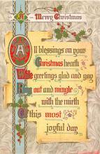 xms005283 - Christmas Postcard