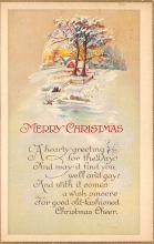 xms005333 - Christmas Postcard