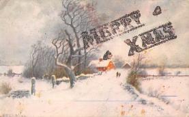 xms005431 - Christmas Postcard