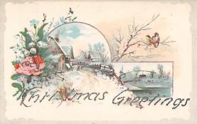 xms005557 - Christmas Post Card