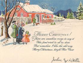 xms005561 - Christmas Post Card