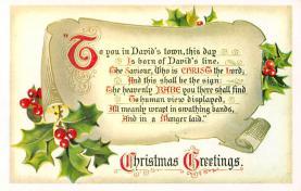 xms005695 - Christmas Post Card