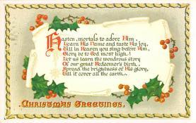 xms005713 - Christmas Post Card