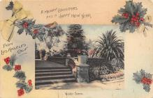 xms005769 - Christmas Post Card Old Vintage Antique Xmas Postcard