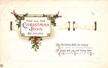 xms005907 - Christmas Post Card Old Vintage Antique Xmas Postcard