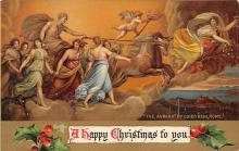 xms005925 - Christmas Post Card Old Vintage Antique Xmas Postcard