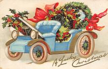 xms005933 - Christmas Post Card Old Vintage Antique Xmas Postcard