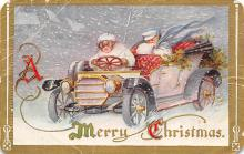 xms005937 - Christmas Post Card Old Vintage Antique Xmas Postcard