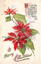 xms005939 - Christmas Post Card Old Vintage Antique Xmas Postcard