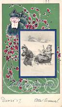 xms005955 - Christmas Post Card Old Vintage Antique Xmas Postcard
