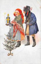 xms005957 - Christmas Post Card Old Vintage Antique Xmas Postcard