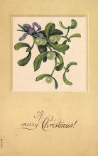 xms006091 - Christmas Post Card Old Vintage Antique Xmas Postcard