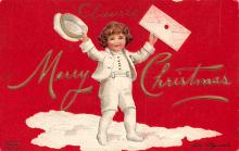 xms006109 - Christmas Post Card Old Vintage Antique Xmas Postcard