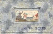 xms006243 - Christmas Post Card Old Vintage Antique Xmas Postcard