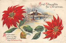 xms006273 - Christmas Post Card Old Vintage Antique Xmas Postcard