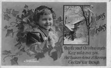 xms006289 - Christmas Post Card Old Vintage Antique Xmas Postcard