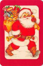 xms100657 - Santa Claus Post Card Old Antique Vintage Christmas Postcard
