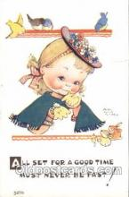 xrt001015 - Mabel Lucy Attwell,  Artist Signed Postcard Postcards