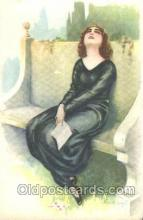 xrt005003 - Artist Signed A. Bertiglia, Postcard Postcards