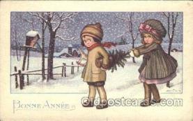 xrt005014 - Artist Signed A. Bertiglia, Postcard Postcards