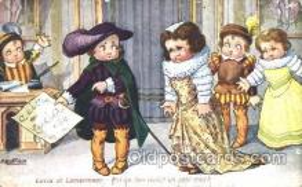 xrt005018 - Artist Signed A. Bertiglia, Postcard Postcards