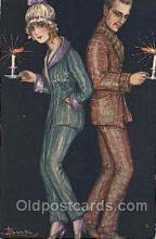 xrt006002 - Artist Signed Adolfo Busi Postcard Postcards