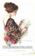 xrt009080 - Artist Earl Christy Postcard Post Card Old Vintage Antique Series # 170