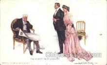 xrt009b012 - Artist Signed Howard Chandler Christy, Postcard Postcards
