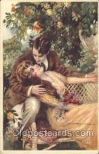 xrt012064 - Tito Corbella (Italy) Artist Signed Postcard Postcards