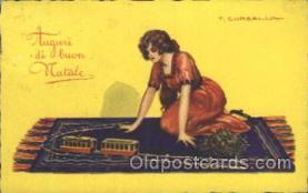 xrt012107 - Tito Corbella (Italy) Artist Signed Postcard Postcards