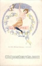 xrt013a001 - A, Douhin,  Artist Signed Postcard Postcards