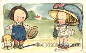 xrt014085 - Artist Signed Grace Wiederseim / Drayton Postcard Postcards