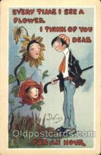 xrt015028 - Artist Signed Dwig, Dwiggens, Postcard Postcards