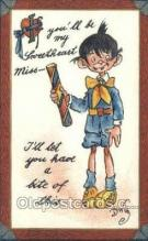 xrt015077 - Valentine Series no. 403 Artist Dwig, Dwiggens, Postcard Post Cards