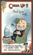 xrt015101 - Cheer Up!! Series Artist Dwig, Dwiggens, Postcard Post Cards