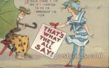 xrt015112 - That's what they all say! Artist Dwig, Dwiggens, Postcard Post Cards