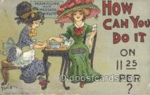 xrt015114 - How can I do it Artist Dwig, Dwiggens, Postcard Post Cards