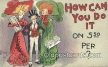 xrt015119 - How can I do it Artist Dwig, Dwiggens, Postcard Post Cards