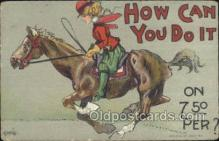 xrt015124 - How can I do it Artist Dwig, Dwiggens, Postcard Post Cards