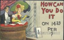 xrt015127 - How can I do it Artist Dwig, Dwiggens, Postcard Post Cards