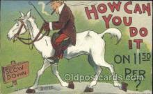 How can I do it Artist Dwig, Dwiggens, Postcard Post Card