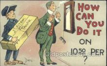 xrt015129 - How can I do it Artist Dwig, Dwiggens, Postcard Post Cards