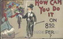 xrt015136 - How can I do it Artist Dwig, Dwiggens, Postcard Post Cards