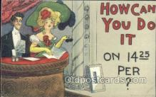 xrt015137 - How can I do it Artist Dwig, Dwiggens, Postcard Post Cards