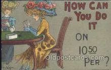 xrt015140 - How can I do it Artist Dwig, Dwiggens, Postcard Post Cards