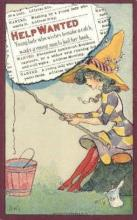 xrt015146 - Help Wanted Artist Dwig, Dwiggens, Postcard Post Cards