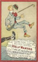 xrt015148 - Help Wanted Artist Dwig, Dwiggens, Postcard Post Cards