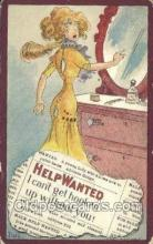 xrt015150 - Help Wanted Artist Dwig, Dwiggens, Postcard Post Cards